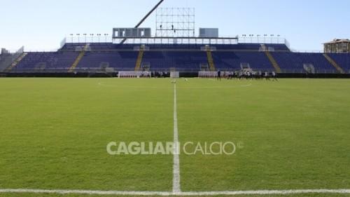 Is Arenas allenamento Cagliari