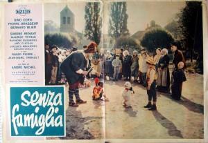 """Un'immagine tratta dal film """"Senza Famiglia"""" con Gino Cervi"""